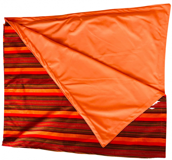 Kahawa & Treats - Orange and Red Picnic Blanket 2 e1597865456164