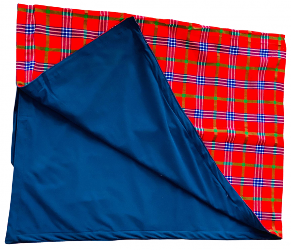Kahawa & Treats - Red and Blue Picnic Blanket. 2 e1597865335346